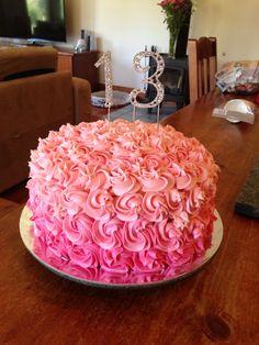 Millie's 13th birthday cake