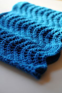 Twitterpation crochet pattern, Suggestion, on row 3 only lift the front of the stitch to create a more defined ridge