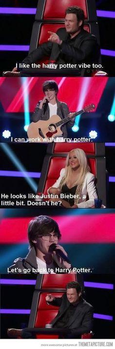 You look like Justin Bieber…