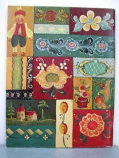 Jo Sonja Jansen Rosemaling Primer Painting Techniques Designs Patterns Book