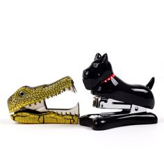 Mini Dog Stapler & Croc Remover. Can't get enough of animal staplers these days!