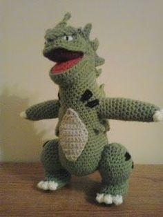 Crochet Fanatic: #248=TYRANITAR