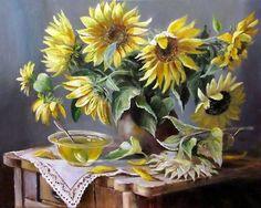 Painting by Olga Vorobyeva