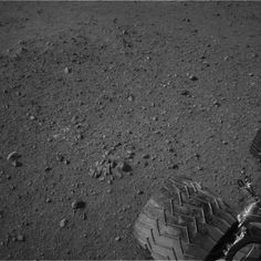 Twitter / MSL_101: Dirty Wheel on Mars - a good day for #MSL Curiosity. :)