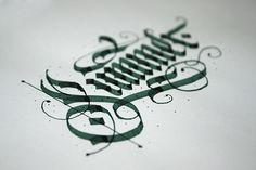 """betype: """"Calligraphy set 2014 by Starov Evgeniy """" Gothic Script, Gothic Lettering, Chicano Lettering, Cool Lettering, Types Of Lettering, Hand Lettering, Calligraphy Doodles, Calligraphy Words, Calligraphy Alphabet"""