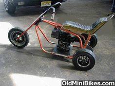Tom Drzewiecki uploaded this image to 'misc minibikes'. See the album on Photobucket. Mini Bike, Mini Motorbike, Motorcycle Wheels, Motorized Bicycle, Trike Bicycle, Homemade Motorcycle, Diy Go Kart, Mini Chopper, Custom Trikes