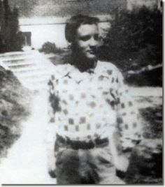Very Young Elvis - prior to his meteoric rise to superstardom - but, the potential is there!
