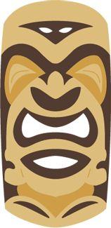Tiki Statue Free SVG
