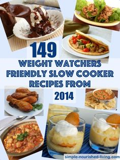 149 Weight Watchers Friendly Lower Calorie Slow Cooker Recipes - 2014 #slowcooker #recipe #crockpot #easy #recipes