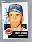 For Sale: *HOWIE JUDSON*  1953 Topps Archives RP Hand-Signed Auto  CINCINNATI REDS http://sprtz.us/RedsEBay