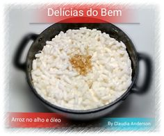 Polymer clay rice with garlic brazilian style