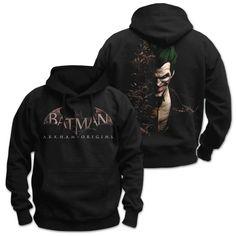 Batman Arkham Origins Hooded Sweater Joker - The Movie Store