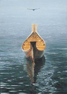 Robert Bateman - @Alan Craig Craig Williams HO NO! he felt in the water!!!! :p http://pinterest.com/pin/44754590016685159/