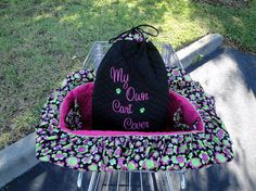 Shopping Cart Cover for  Dogs  Pets  Custom Colors  by rendachs, $60.00