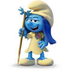 Smurf Melody loves music.