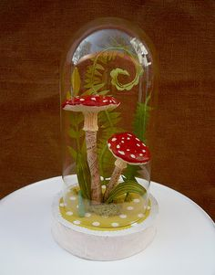 Paper mache terrarium, @Kristen Therrell  we should do this with the boys!