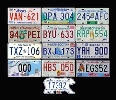I've always thought Ontarian license plates are the best designed in Canada and the US. Clear, to-the-point, nothing distracting about them. Canadian Things, I Am Canadian, Canadian Girls, Canadian History, Canadian Flags, Canadian Humour, All About Canada, Meanwhile In Canada, Canada 150