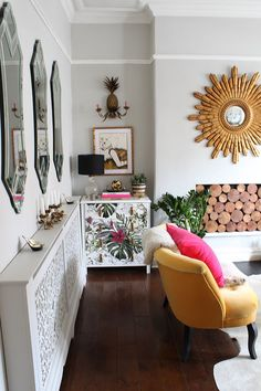 £30 Project   Wallpaper Chest Of Drawers - Image By Swoon Worthy