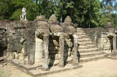 Elephants Terrace Temple