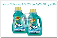 Xtra Laundry Detergent solo $1.50 en CVS PR y USA