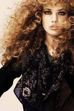 Always a weakness for curls