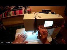 Varrógép kezelése abszolút kezdőknek 2. rész. - YouTube Sewing, Youtube, Scrappy Quilts, Dressmaking, Couture, Stitching, Sew, Youtubers, Costura