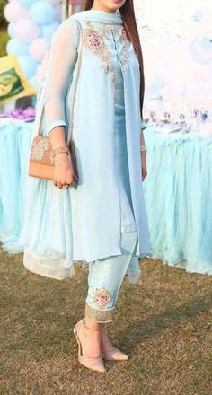 Are you researching for the best quality Elegant Design Punjabi Suit plus Elegant Designer ladies Punjabi Suit then you'll like this Click above VISIT link for more details Pakistani Dress Design, Pakistani Outfits, Indian Outfits, Pakistani Bridal, Stylish Dresses, Casual Dresses, Girls Dresses, Formal Dresses, Suit Fashion