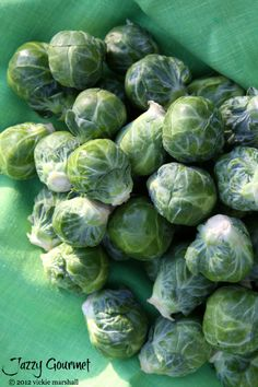 Brussels Sprouts by Jazzy Gourmet