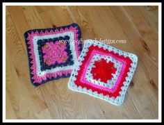 Posh Pooch Designs Dog Clothes: UnBroken Hearts Granny Square Crochet Pattern