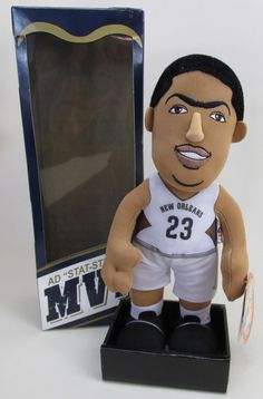 7a1f1317d Anthony Davis New Orleans Pelicans MVP Stat Stuffed Plush in Box