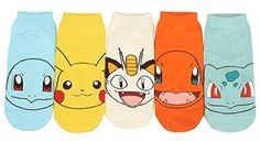 Women Pokemon Cartoon Funny Ankle Socks
