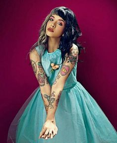 Imagen de melanie martinez, cry baby, and crybaby Melanie Martinez Style, Melody Martinez, Cry Baby, Jesse Rutherford, Twenty One Pilots, Girl Crushes, Tatoos, Crying, Love Her
