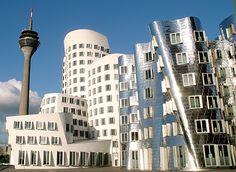 Gehry Gebouwen in Düsseldorf