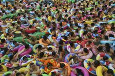 #China Let's go swimming!