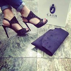 Animal Print black shoes