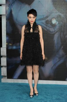 Rinko Kikuchi Rinko Kikuchi attends the European Premiere of 'Pacific Rim' at BFI IMAX on July 4, 2013 in London, England.