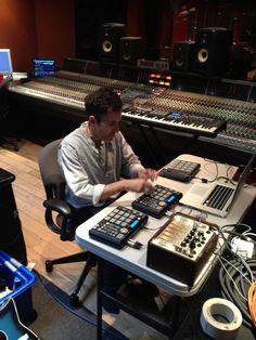 Massive Attack's setup...using MPCs I see.