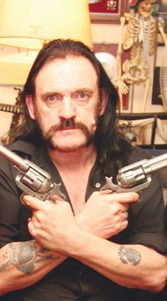 Lemmy looks a little gooned up in this picture... just sayin'