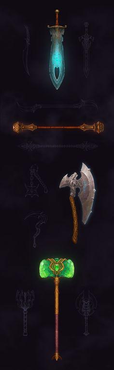 Warrior's Revenge - Game Art on Behance