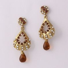 Brown Diamond Exotic Earring By Variation