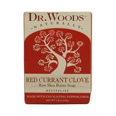 Dr. Woods Bar Soap Red Currant Clove (1x5.25 Oz)