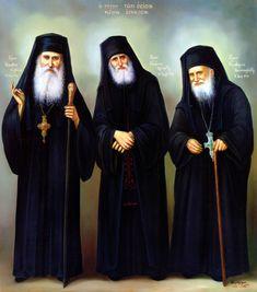 Γέρων Ιάκωβος Τσαλίκης, Όσιος Παΐσιος Αγιορείτης και Όσιος Πορφύριος Καυσοκαλυβίτης