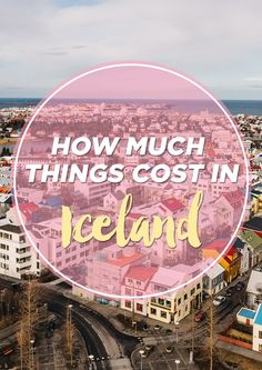 How much do things cost in Iceland? I get asked this question a lot when talking about Iceland. There's some areas where Iceland is really expensive, like food and gas, but there are some ways to keep the costs down.