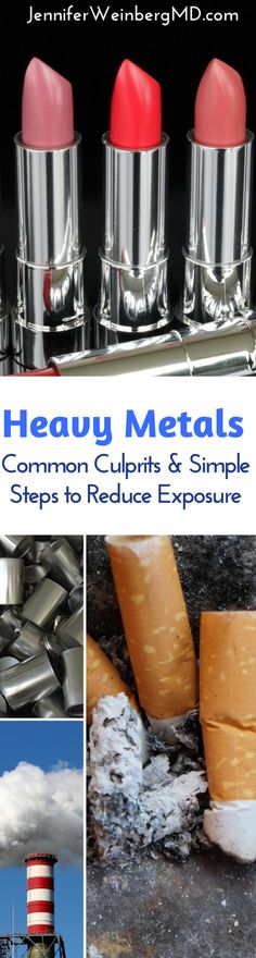 Heavy metals: #health risks & ways to protect your health! #healthy #wellness #prevention #heavymetals #toxicity #toxic #chemicals #nontoxic #naturalliving @everlywellness @FitApproach #Fallintohealth #beeverlywell www.JenniferWeinbergMD.com