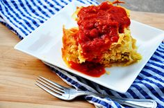 spaghetti pie by thelittlekitchenthatcould