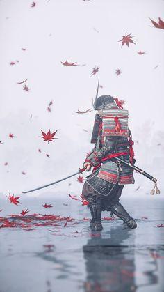 Oni Samurai, Samurai Warrior, Japanese Tattoo Art, Anime Krieger, Samurai Wallpaper, Bloodborne Art, Arte Ninja, Samurai Artwork, Movie Posters