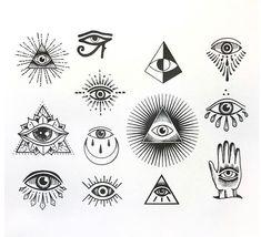 61 Ideen z. Illuminati Eye Tattoo-Symbole tattoo designs ideas männer männer ideen old school quotes sketches