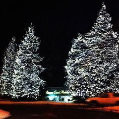 Love Christmas time in Beaver Creek, CO