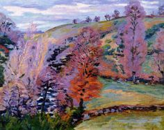 Crozant Landscape (Armand Guillaumin - 1910)