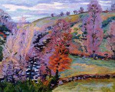 Crozant Landscape (Armand Guillaumin - 1910)